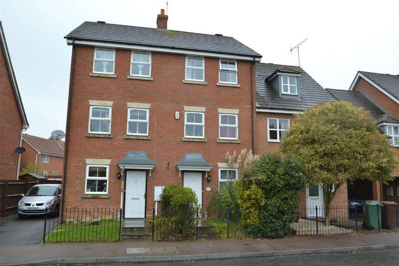 4 Bedrooms Town House for sale in Boughton Road, Corby, Northamptonshire