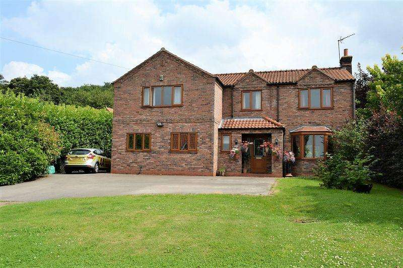 5 Bedrooms Detached House for sale in Tekoa, North End, South Ferriby