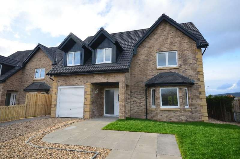 5 Bedrooms Detached House for sale in Campbell Drive, Helensburgh, Argyll Bute, G84 7JS