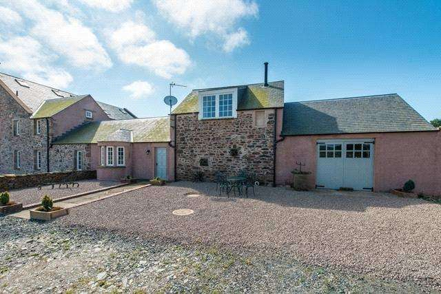 2 Bedrooms Semi Detached House for sale in Converted Byre, Whiteknowes, Westruther, Scottish Borders, TD3