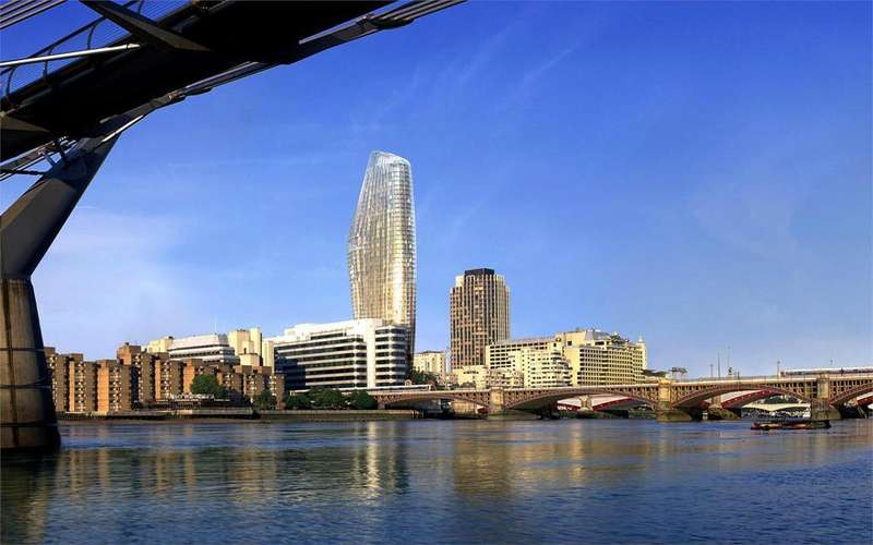 1 Bedroom Flat for sale in One Blackfriars, Upper Ground, London