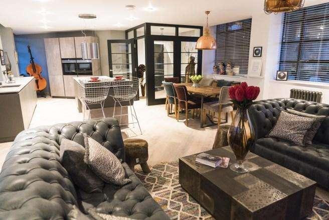 3 Bedrooms Triplex Flat for rent in Queensway House, Livery Street, Birmingham B3