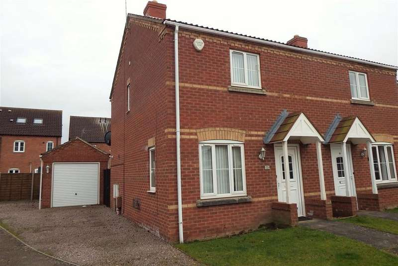 2 Bedrooms Semi Detached House for sale in Kings Court, Kirton, Boston