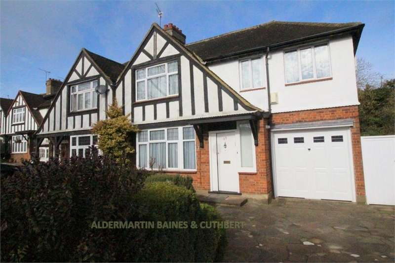 4 Bedrooms Semi Detached House for sale in Ranelagh Drive, Edgware