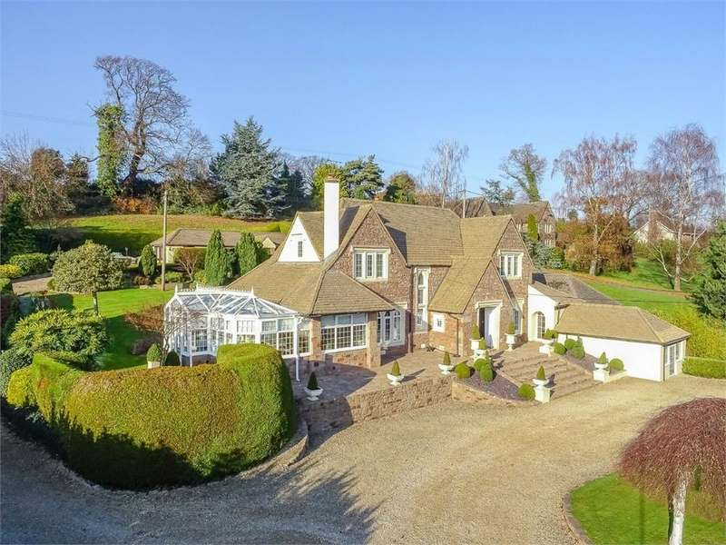5 Bedrooms Detached House for sale in Whitchurch, Ross on Wye, Herefordshire