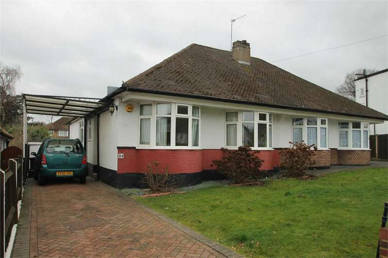 2 Bedrooms Semi Detached Bungalow for sale in Devonshire Way, Shirley, Croydon, Surrey