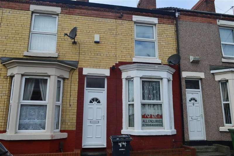 2 Bedrooms Terraced House for sale in Moorland Road, Tranmere, CH42