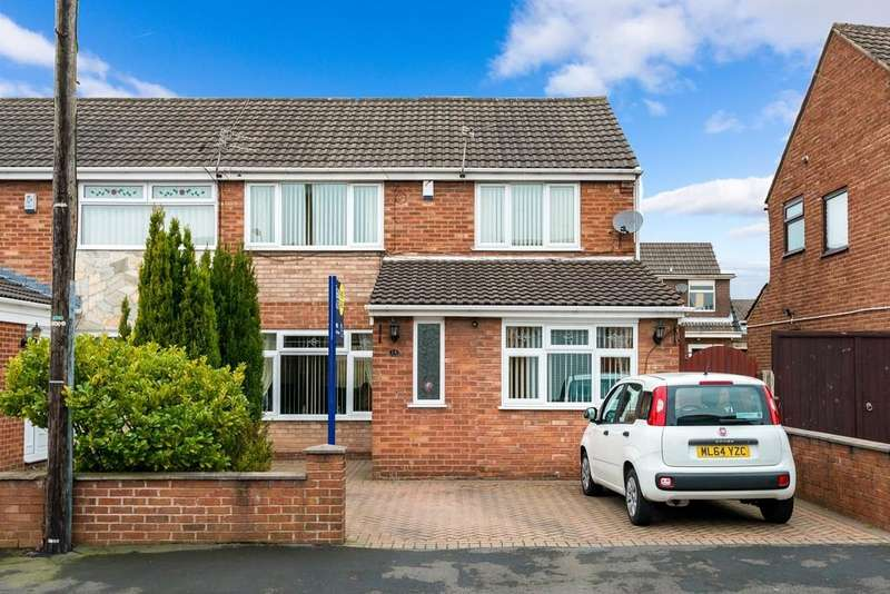 3 Bedrooms Semi Detached House for sale in Bramcote Avenue, Laffak, St. Helens
