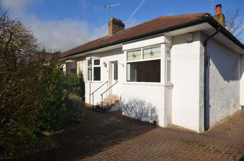 4 Bedrooms Semi Detached Bungalow for sale in Muirhill Avenue, Muirend, Glasgow, G44 3HP