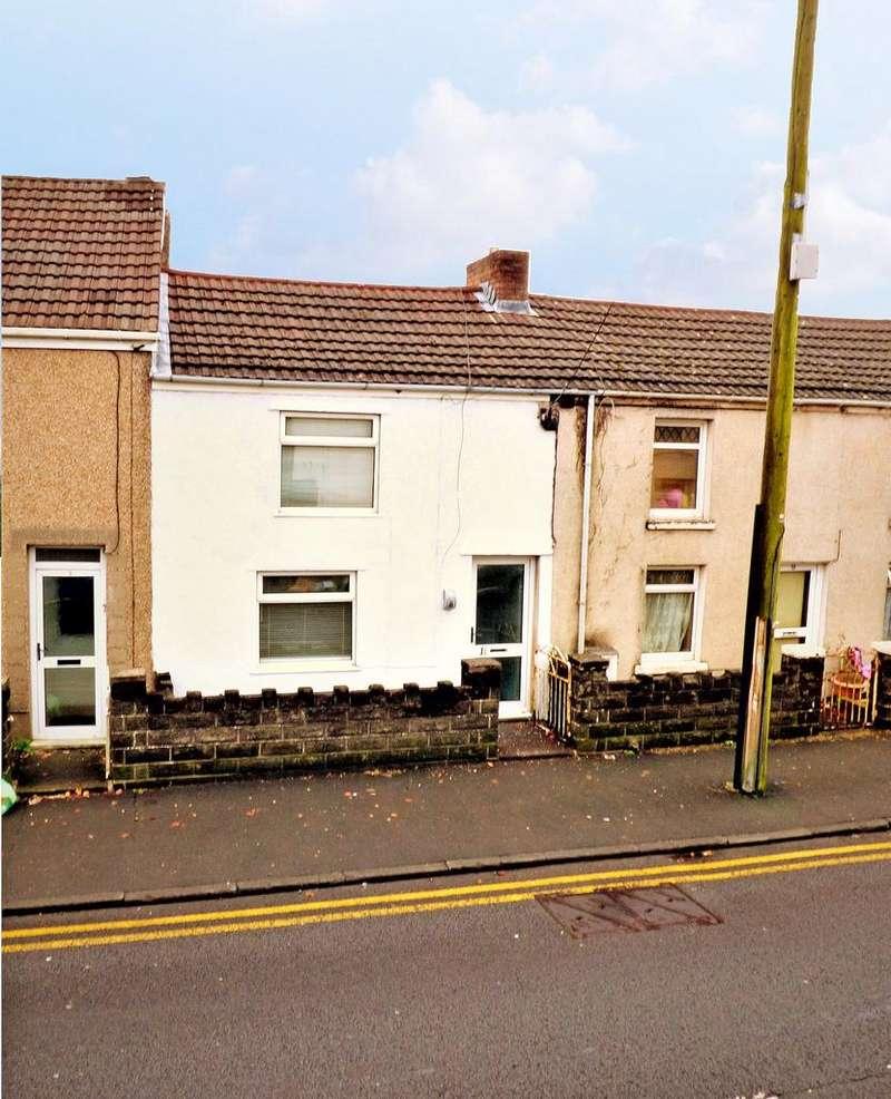 2 Bedrooms Terraced House for sale in Glebe Road, Loughor, Swansea, SA4