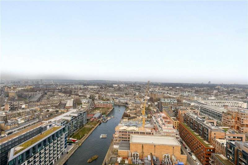 3 Bedrooms Flat for sale in Canaletto Tower, 257 City Road, London, EC1V