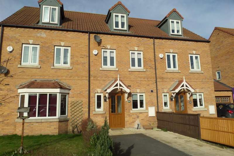 3 Bedrooms Town House for sale in Horsley Road, Gainsborough