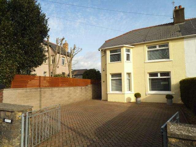 3 Bedrooms Semi Detached House for sale in Ewenny Road, Bridgend CF31
