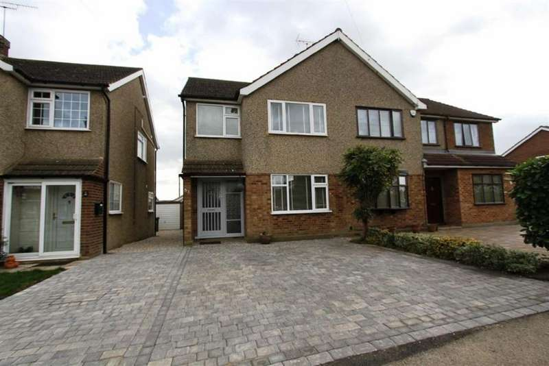 3 Bedrooms Semi Detached House for sale in Trinity Road, Billericay, Essex, CM11 2RT