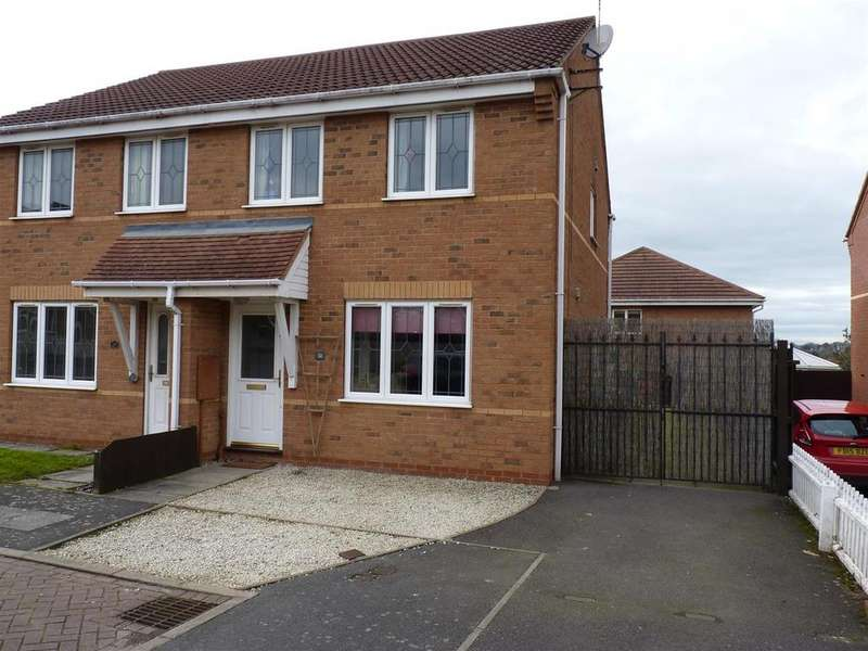 3 Bedrooms Semi Detached House for sale in Shelland Close, Market Harborough
