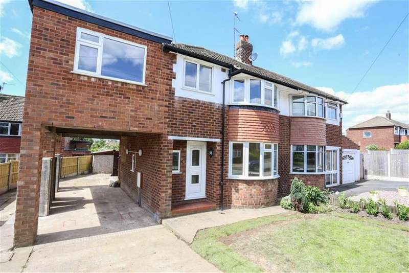 4 Bedrooms Semi Detached House for sale in Culcheth Avenue, Marple, Cheshire