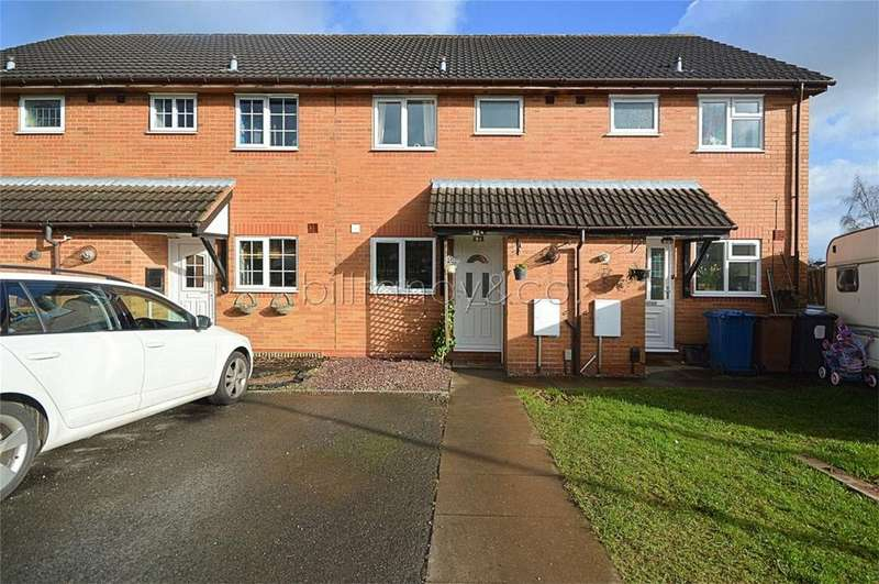 2 Bedrooms Terraced House for sale in Beech Crescent, Burntwood, Staffordshire