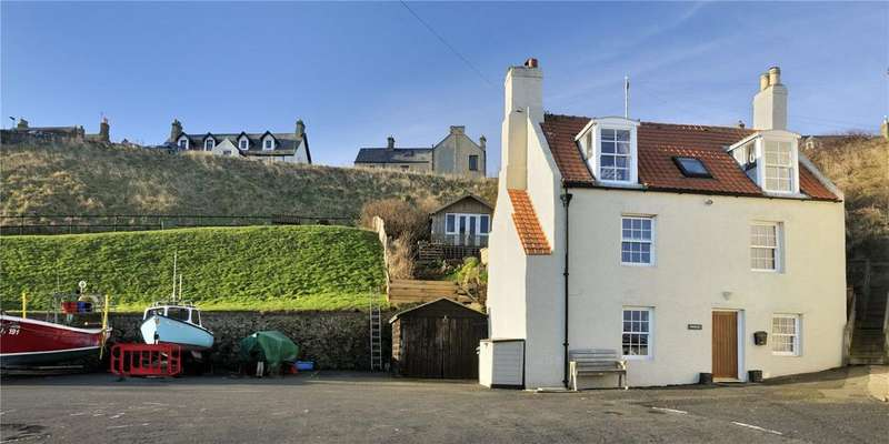 4 Bedrooms Detached House for sale in Springwell, The Harbour, St Abbs, Berwickshire