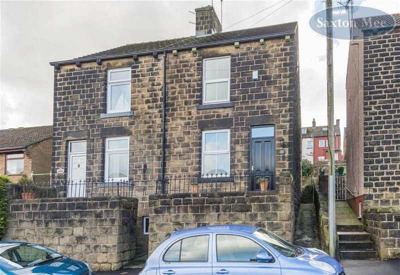 3 Bedrooms Semi Detached House for sale in Coronation Road, Stocksbridge, Sheffield, S36