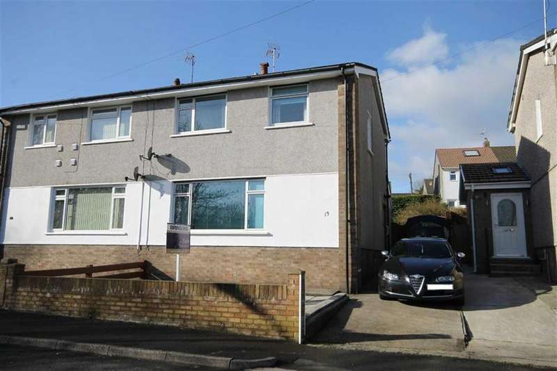 3 Bedrooms Semi Detached House for sale in Heol Glyn, Caerphilly, CF83