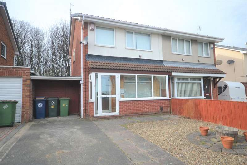 3 Bedrooms Semi Detached House for sale in Skerries Crescent, Redcar TS10