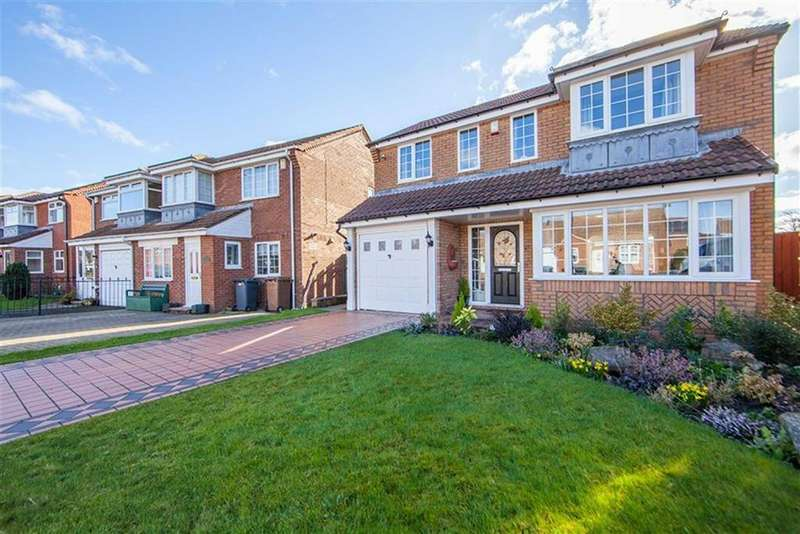 3 Bedrooms Detached House for sale in Bewick Park, Bewick Park, Wallsend, NE28