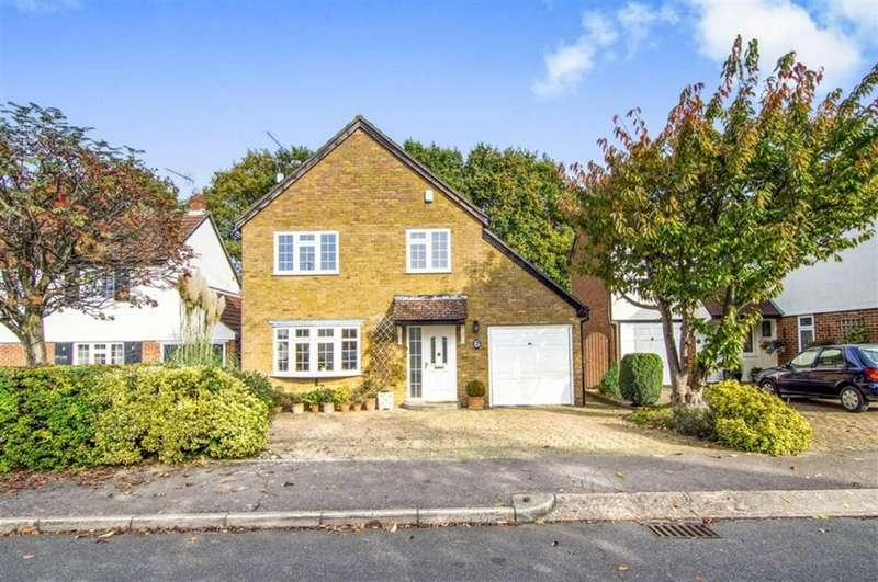 4 Bedrooms Detached House for sale in Epsom Close, Billericay, Essex, CM11 1SJ