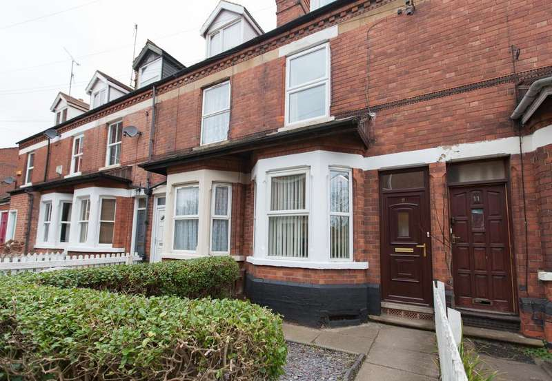 3 Bedrooms Terraced House for sale in Wesley Grove, Carrington, Nottingham NG5