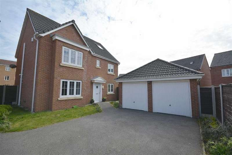 5 Bedrooms Detached House for sale in Kerscott Close, Ince, Wigan, WN3