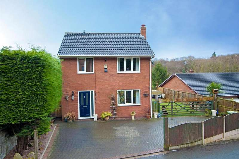 3 Bedrooms Detached House for sale in Moss Hill, Moss Valley, Wrexham, LL11 6ES