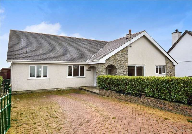 3 Bedrooms Detached Bungalow for sale in Maes Glas, Bethel, North Wales