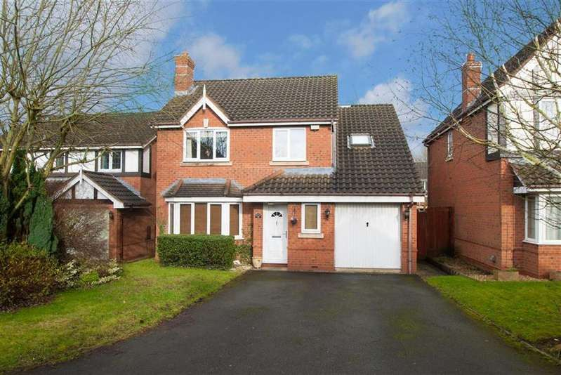 4 Bedrooms Detached House for sale in Bexmore Drive, Lichfield, Staffordshire
