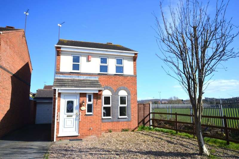 3 Bedrooms Detached House for sale in Walnut Close, Newhall, Swadlincote, DE11