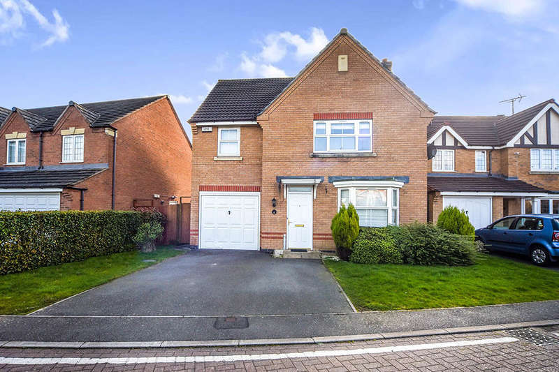 4 Bedrooms Detached House for sale in Broadnook Close, Leicester, LE3