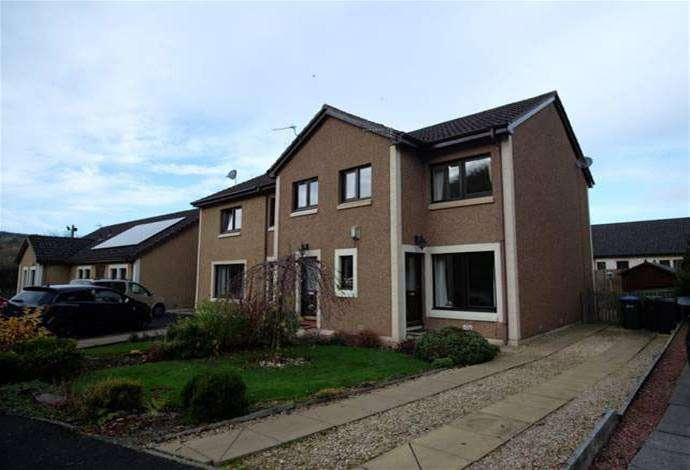 3 Bedrooms Semi Detached House for sale in 8 Acorn Drive, Earlston, TD4 6BW