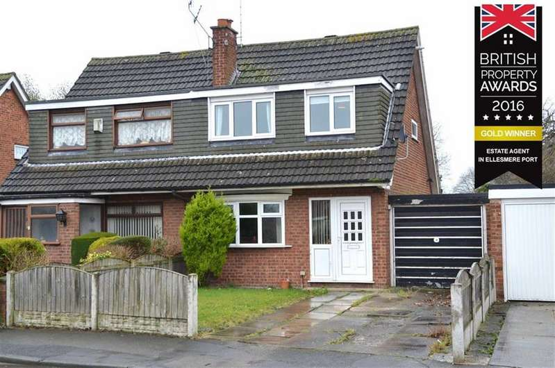 3 Bedrooms Semi Detached House for sale in Black Lion Lane, Little Sutton, CH66