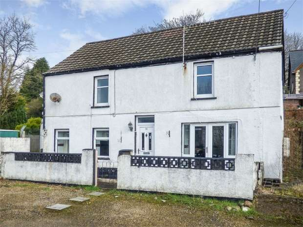 3 Bedrooms Detached House for sale in Kingsbury Place, Llwydcoed, Aberdare, Mid Glamorgan
