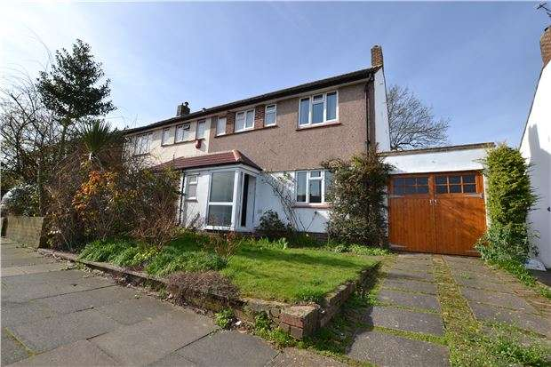 3 Bedrooms Semi Detached House for sale in Gillmans Road, ORPINGTON, Kent, BR5 4LD