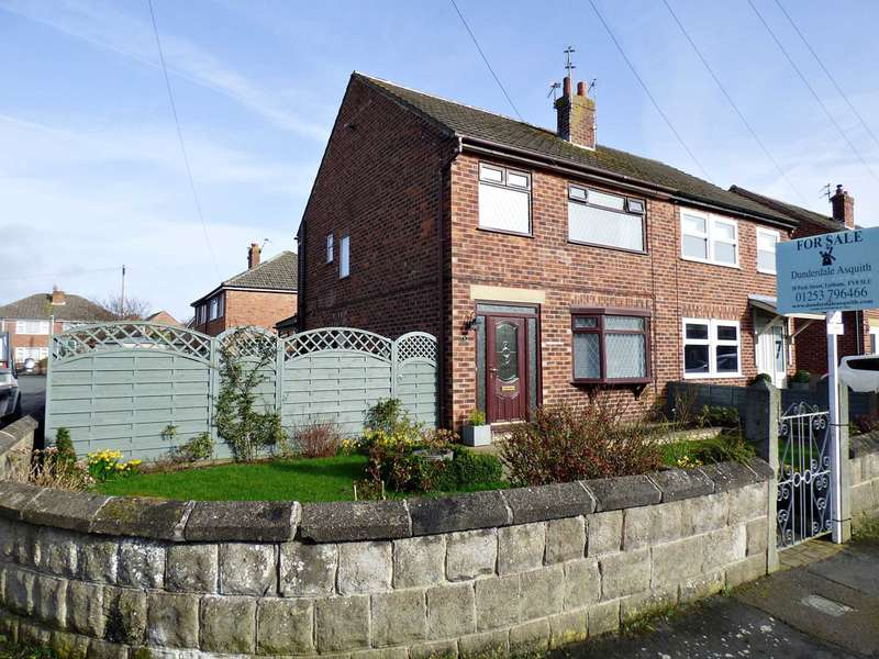 3 Bedrooms Semi Detached House for sale in Bleasdale Road, Lytham