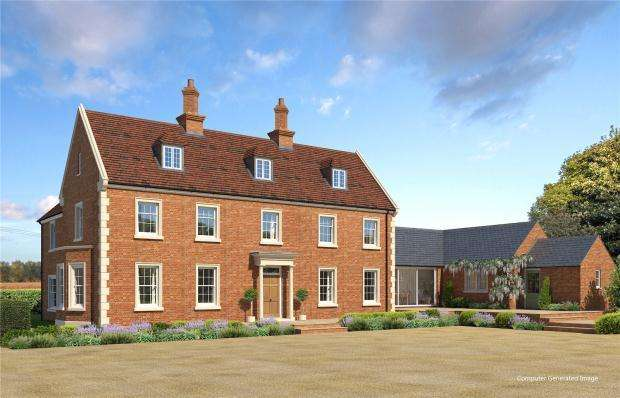 6 Bedrooms Detached House for sale in Basingstoke Road, Ramsdell, Tadley, Hampshire