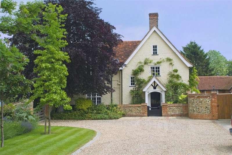 5 Bedrooms Detached House for sale in Beldams Lane, Bishops Stortford