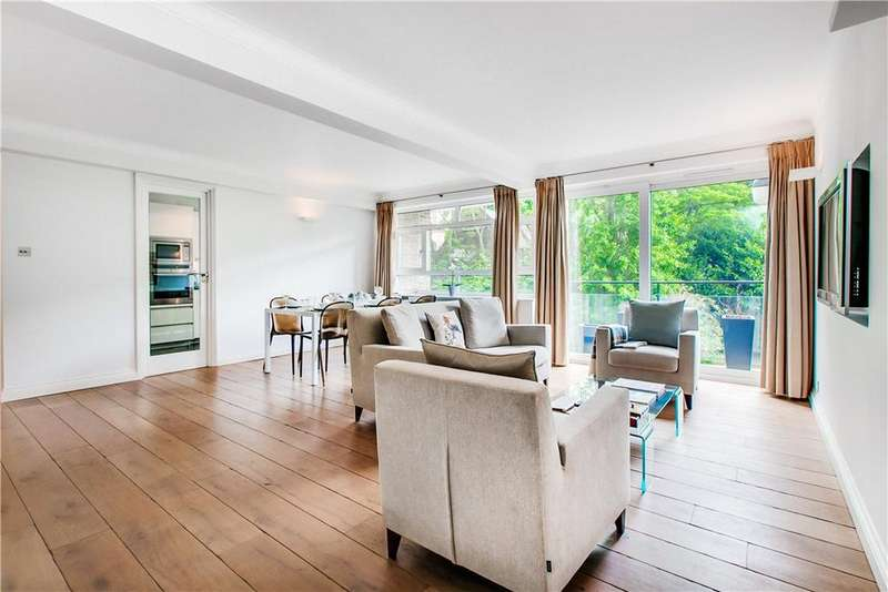 2 Bedrooms Flat for sale in Monckton Court, Strangways Terrace, Holland Park, London, W14
