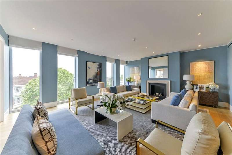4 Bedrooms Flat for sale in Hollandgreen Place, Kensington, London, W8