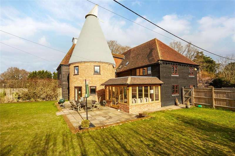 4 Bedrooms Unique Property for sale in Crittenden Road, Matfield, Tonbridge, Kent, TN12