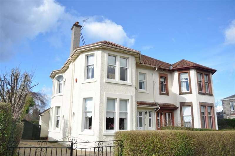 4 Bedrooms Semi Detached House for sale in 26 Broom Road, Newlands, G43 2TP