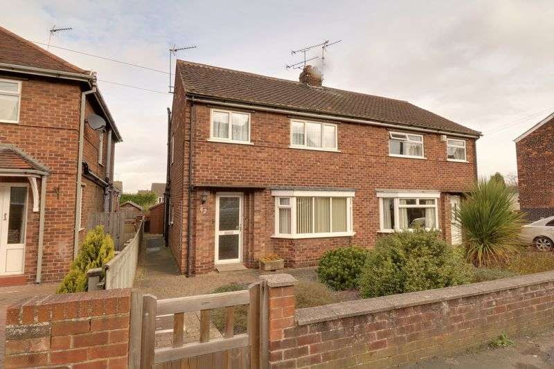 3 Bedrooms Semi Detached House for sale in West Acridge, Barton-Upon-Humber