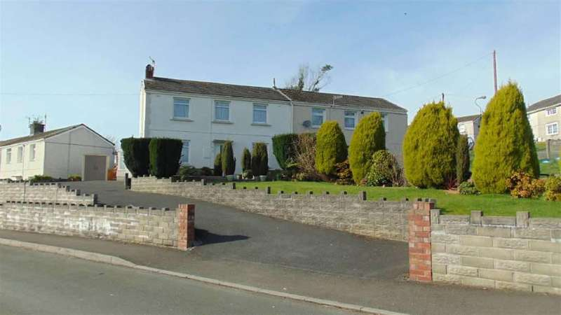 3 Bedrooms Semi Detached House for sale in Brynmelyn Avenue, Llanelli