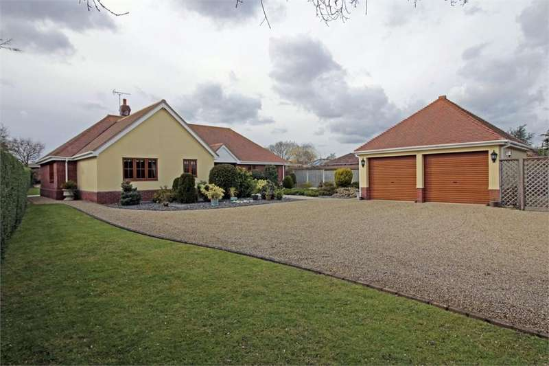 3 Bedrooms Detached Bungalow for sale in School Lane, Great Wigborough, COLCHESTER, Essex