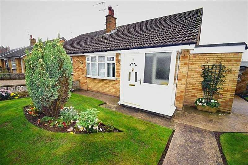 2 Bedrooms Semi Detached Bungalow for sale in Ridgestone Avenue, Bilton, Hull, HU11