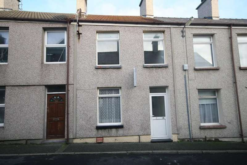 2 Bedrooms Terraced House for sale in Cybi Place, Holyhead, North Wales
